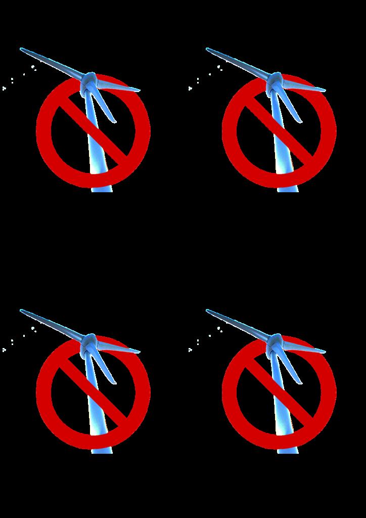 Mini-affiche NONx4 - A4